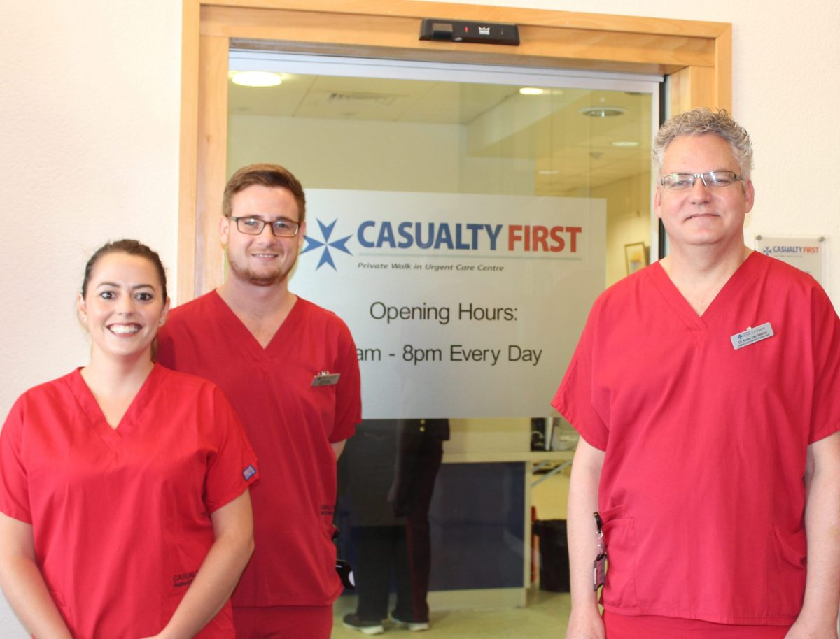 Our Casualty First Team